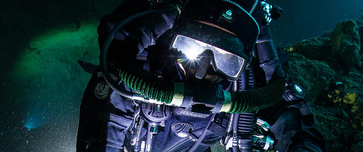 CCR Rebreather Cave diving Mexico ProTec Dive Centers