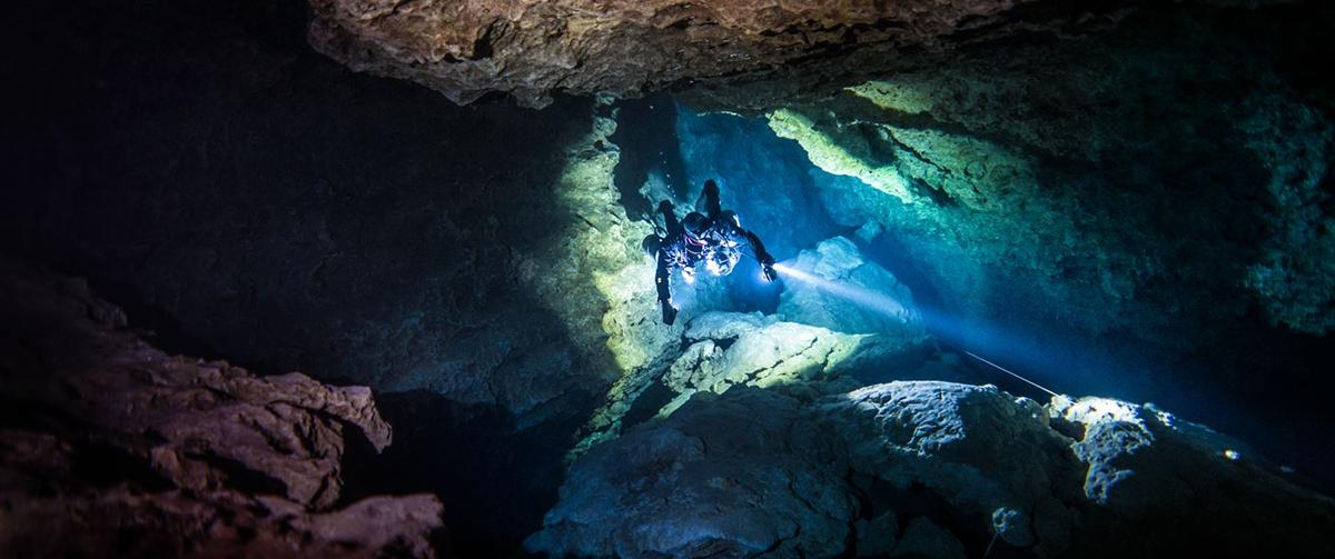 Cave diving Mexico with ProTec Dive Centers