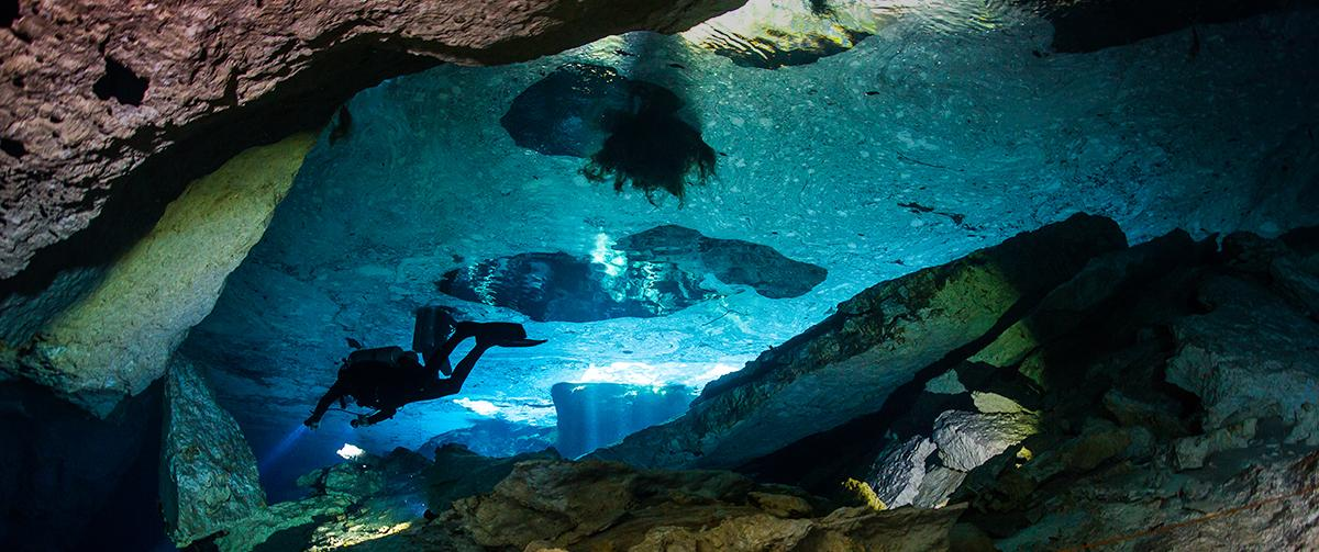 Cavern diving Mexico ProTec Dive Centers