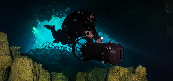 ccr rebreather diving in mexico